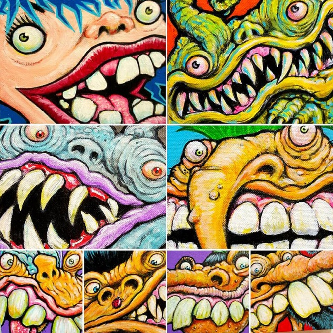 monsterfacesbydetrich